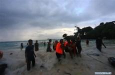 Ít nhất 29 người thiệt mạng trong vụ chìm phà ở Indonesia