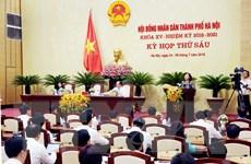 Khai mạc Kỳ họp thứ 6 Hội đồng Nhân dân thành phố Hà Nội khóa XV