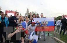 Quá tải cổ động viên, Nga mở khu Fanzone thứ hai tại Moskva