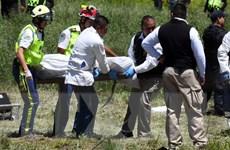 Hình ảnh hiện trường vụ nổ kinh hoàng nhà máy pháo hoa ở Mexico
