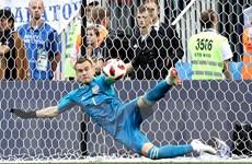 Akinfeev - chốt chặn vững chãi cho niềm tin của đội tuyển Nga