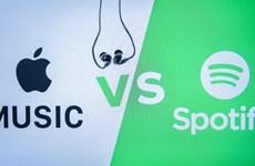 Dịch vụ nghe nhạc Apple Music vượt mặt Spotify ở thị trường Mỹ