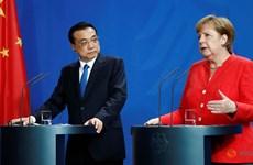 Hai Thủ tướng Đức và Trung Quốc cam kết chống lại chủ nghĩa bảo hộ