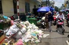 Xử lý khẩn cấp tình trạng 1.500 tấn rác ùn ứ ở thành phố Quảng Ngãi