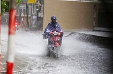 Thủ đô Hà Nội trong bốn ngày tới sẽ có mưa rất to và dông