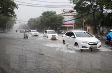 Áp thấp nhiệt đới gây mưa rất to ở các tỉnh miền Bắc, cảnh báo lũ quét