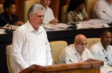 Chủ tịch Cuba Diaz-Canel kêu gọi người dân lao động chăm chỉ hơn
