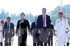 Chủ tịch Hạ viện Australia kết thúc chuyến thăm chính thức Việt Nam