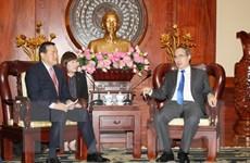 Tập đoàn Lotte muốn tham gia nhiều dự án đầu tư tại TP Hồ Chí Minh