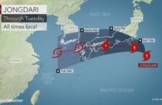 Sau ngập lụt và nắng nóng, Nhật Bản phải ứng phó với bão lớn