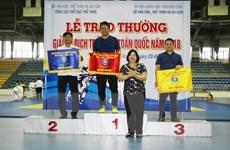 Đội TP.HCM về nhất toàn đoàn Giải vô địch trẻ Judo toàn quốc