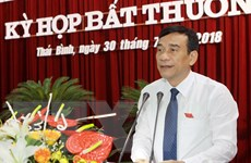 Thái Bình có tân Chủ tịch Ủy ban Nhân dân và Hội đồng Nhân dân