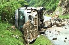 Các nạn nhân vụ đá lăn đè bẹp xe khách đã qua cơn nguy kịch