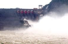 Bắc Bộ mưa to, nước lũ đổ về các hồ thủy điện tiếp tục tăng nhanh