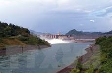 14 giờ ngày 4/8, mở một cửa xả đáy hồ thủy điện Tuyên Quang