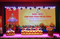 950 đại biểu dự Đại hội XII Công đoàn Việt Nam diễn ra vào tháng 9