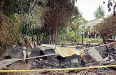 Thảm án ở Cà Mau: Chồng chém vợ, phóng hỏa giết chị vợ và con trai