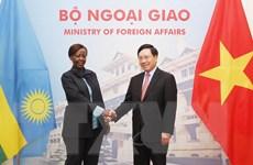 Việt Nam coi trọng phát triển quan hệ hữu nghị với Rwanda