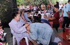 Đại lễ Vu Lan báo hiếu gắn kết cộng đồng người Việt Nam ở Lào
