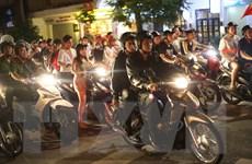 Bán kết Việt Nam-Hàn Quốc: Hơn 1.000 công an Hà Nội bảo vệ trật tự