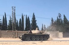 Giao tranh bùng phát dữ dội tại thủ đô Tripoli của Libya