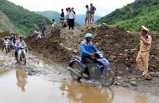 Lai Châu: Mưa lũ làm 3 người chết và mất tích, giao thông bị tắc nghẽn
