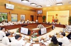 Ngày 10/9 bắt đầu Phiên họp thứ 27 của Ủy ban Thường vụ Quốc hội
