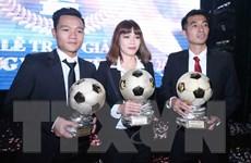 Khởi động Giải thưởng Quả bóng vàng Việt Nam năm 2018