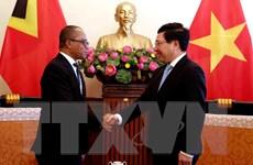 Xúc tiến đàm phán Hiệp định Bảo hộ Đầu tư Việt Nam và Timor-Leste