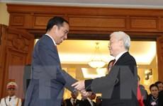 Tổng thống Indonesia và Phu nhân kết thúc chuyến thăm Việt Nam