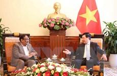 Việt Nam-Bangladesh nhất trí tổ chức kỳ họp tham khảo chính trị lần 2