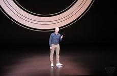 Sự kiện ra mắt iPhone 2018 mới bắt đầu diễn ra: Có 3 sản phẩm mới