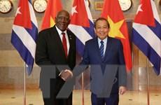 Việt Nam quyết tâm làm sâu sắc hơn quan hệ hợp tác toàn diện với Cuba