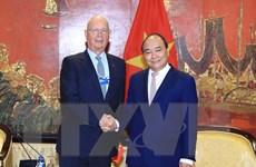 Chủ tịch WEF: Tự hào về thành công của hội nghị tại Việt Nam