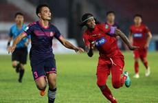 V-League 2018: Hải Phòng giành ba điểm trên sân nhà trước Sài Gòn