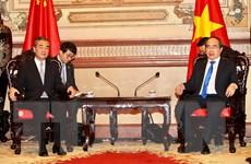 Lãnh đạo Thành phố Hồ Chí Minh tiếp Bộ trưởng Ngoại giao Trung Quốc