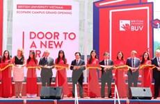 Khánh thành trường Đại học Anh quốc Việt Nam tại Khu đô thị Ecopark