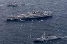 Mỹ bắt đầu cuộc tập trận hải quân tại Tây Thái Bình Dương