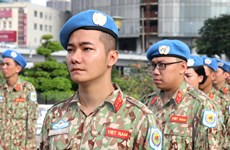 Việt Nam tham gia gìn giữ hòa bình LHQ - sứ mệnh quốc tế cao cả