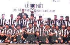 Juventus mở học viện đào tạo bóng đá chất lượng cao tại Việt Nam
