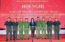 Quyền Chủ tịch nước dự sơ kết cao điểm chống tội phạm ma túy ở Sơn La