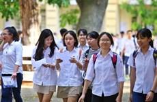 Trong tháng 10, Sở Giáo dục-Đào tạo Hà Nội sẽ công bố đề thi minh họa