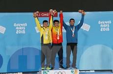 """Olympic trẻ 2018: Ngô Sơn Đỉnh """"mở hàng Vàng"""" cho thể thao Việt Nam"""