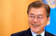 Tỷ lệ ủng hộ Tổng thống Hàn Quốc Moon Jae-in tiếp tục đạt mức cao