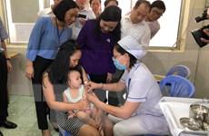 Phát động chiến dịch phòng, chống dịch bệnh tay chân miệng, sởi