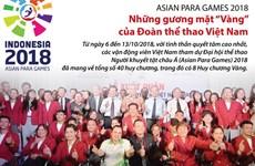 """Những gương mặt """"Vàng"""" của Đoàn thể thao Việt Nam tại Asian Para Games"""