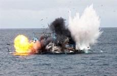 Nổ tàu cá trên biển Lý Sơn làm nhiều người thương vong