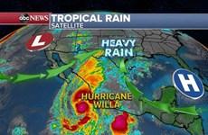Bão Willa mạnh cấp cao nhất, hướng thẳng bờ biển Tây Nam Mexico