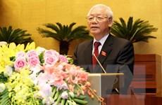 Lãnh đạo các nước và các đảng chúc mừng Chủ tịch nước Nguyễn Phú Trọng