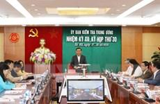 Đề nghị thi hành kỷ luật Ban Thường vụ đảng ủy Tổng cục Cảnh sát